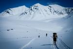 På vei mot 2000 moh. Bildet er tatt av Yngve Nordskag