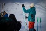 Kjetil Ydstebø tar av fellene. Bildet er tatt av Yngve Nordskag.