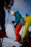Kjetil Ydstebø mekker ski. Bildet er tatt av Yngve Nordskag.
