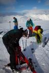 Siste finish før nedstigning. Bildet er tatt av Yngve Nordskag.