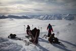 På toppen av Frudalshesten. Bildet er tatt av Yngve Nordskag.